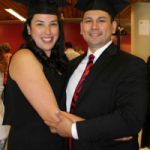 Nicole and Chris Cardinal at their college graduation