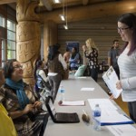 2015 Orientation Open House, First Nations Longhouse